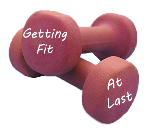 getting fit on weights