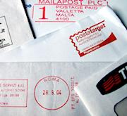 Pile of envelopes-bills